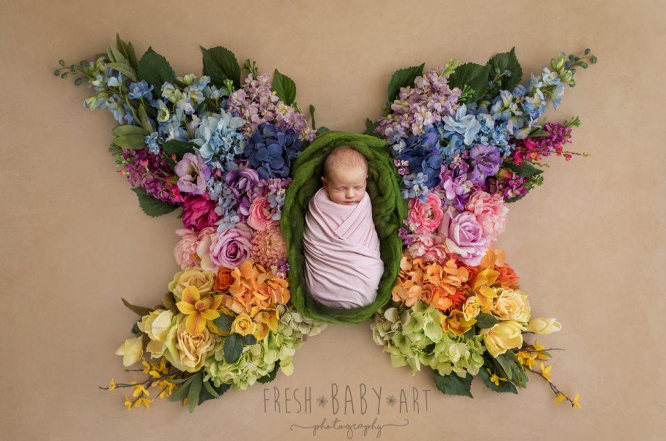 Josie the Rainbow Baby